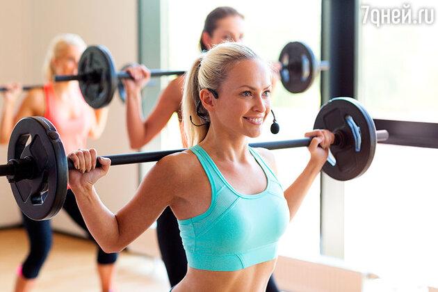 Чтобы не перекачать мышцы, тренируйтесь с легким весом