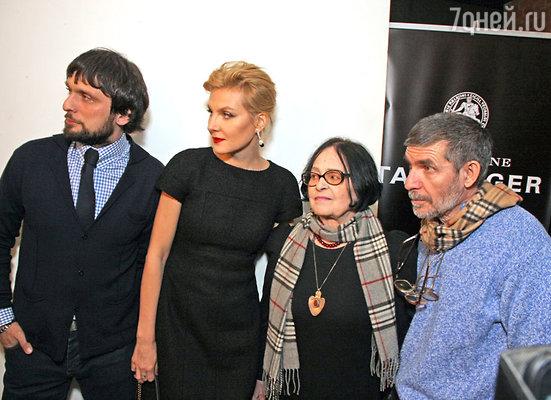 Олег Кохан,  Рената Литвинова, Кира Муратова, Евгений Голубенко