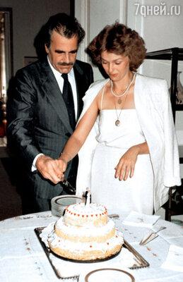 Свадьба с Максимилианом Шеллом. Посольство Швейцарии в Москве. 1986 г.