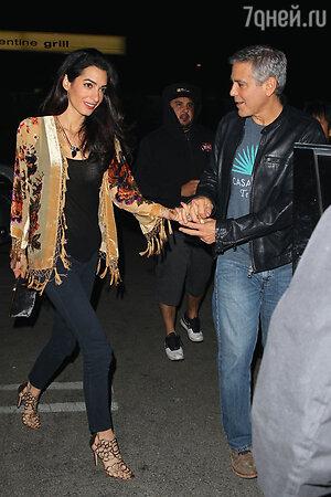 Амаль Аламуддин и Джордж Клуни