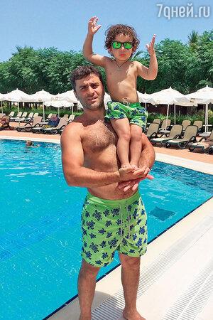 Гурам Баблишвили и сыном Соломоном