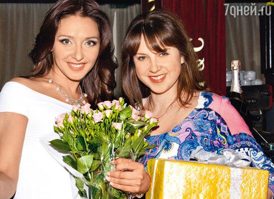 С Ириной Слуцкой