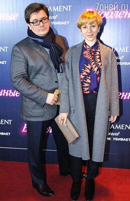 Марианна Максимовская с супругом
