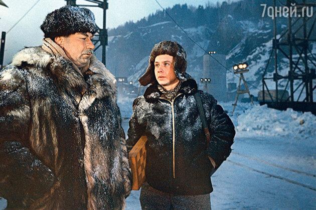 Олег Табаков с Василием Меркурьевым
