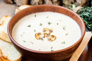 Крем-суп из цветной капусты с грибами: рецепт от шеф-повара Гордона Рамзи