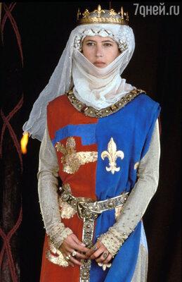 Софи марсо в роли принцессы Изабеллы. «Храброе сердце». 1995 год
