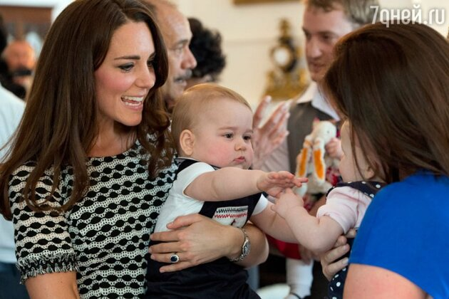 Кейт Миддлтон и принц Джордж тур по Новой Зеландии и Австралии