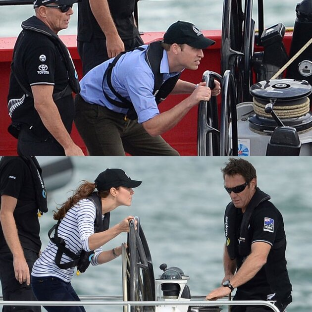 Кейт Миддлтон и принц Уильям тур по Новой Зеландии и Австралии