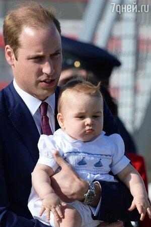 Принц Уильям и принц Джордж тур по Новой Зеландии и Австралии