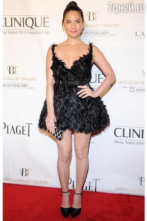 Оливия Манн в платье от Lanvin на церемонии Opening Night Fall Gala