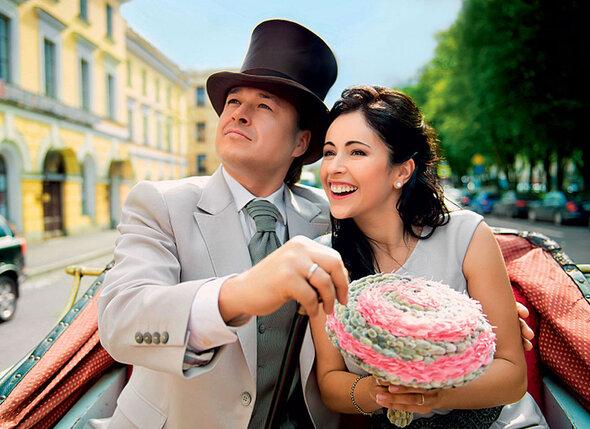 Церемония бракосочетания Ласло и Любы состоялась месяц назад в Санкт-Петербурге