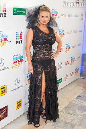 Анна Семенович на церемонии вручения премии «Мз-тв 2012»