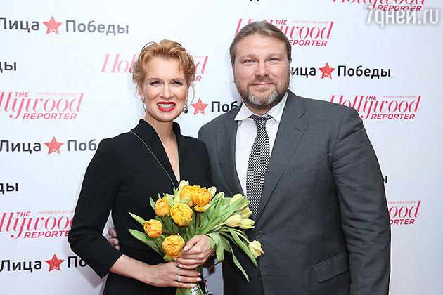 Олеся Судзиловская и Егор Позенко