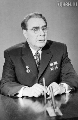 Новогоднее поздравление Леонида Брежнева
