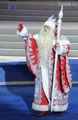 Дед Мороз стал ветераном сказочного труда
