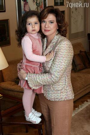 Светлана Сорокина с дочерью Тоней. 2006 г.