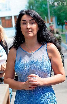 Лолита Милявская во время гастрольного тура. 2004 г.