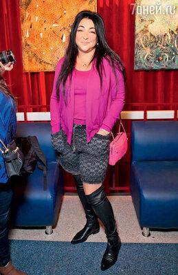 Лолита Милявская на премьере мюзикла. 2012 г.