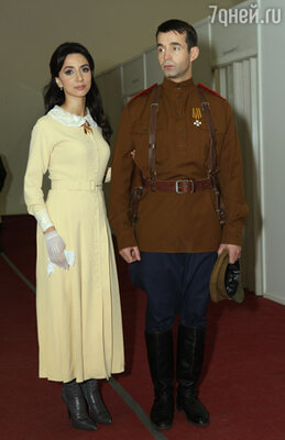 Зара и Дмитрий Певцов в проекте «Две звезды», 2009 г.