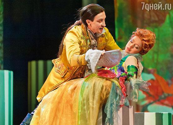 Мне безумно нравится играть в театре. (Моя последняя роль — Вальмон в спектакле «Вальмон. Опасные связи»)