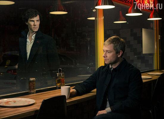 Второй сезон сериала «Шерлок» завершился трагической гибелью сыщика