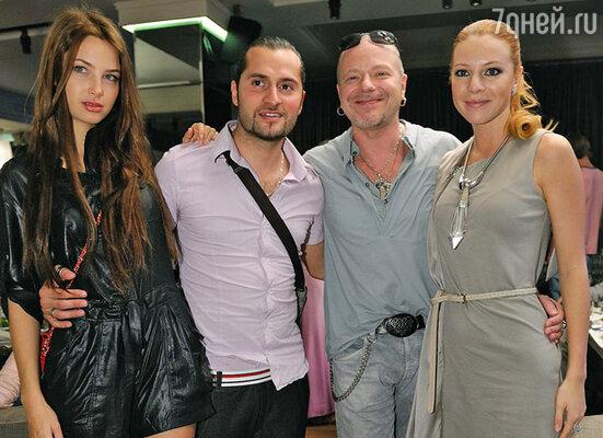 Иракли с женой, Владимир Пресняков и Наталья Подольская