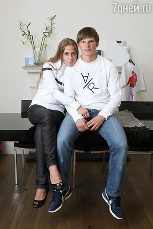 Андрей Аршавин и Юлия Барановская
