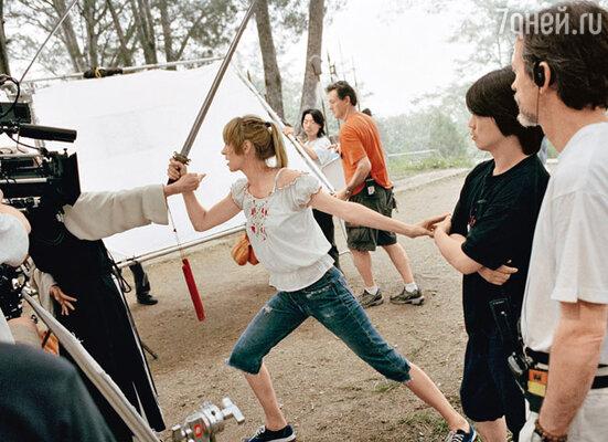 Чтобы научиться сражаться по всем правилам самурайской науки, Уме потребовалось три месяца упорных тренировок