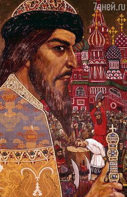 Отстраивать столицу в соответствии с зодиакальным кругом начали еще при Иване Грозном. Фото репродукции картины Ильи Глазунова «Иван Грозный»