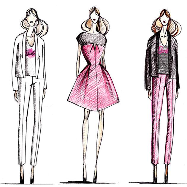 Модели Игоря Чапурина для Barbie