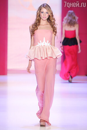Модель коллекции Dasha Gauser for Barbie