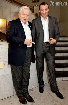 Два Станиславских: Олег Табаков и Анатолий Белый