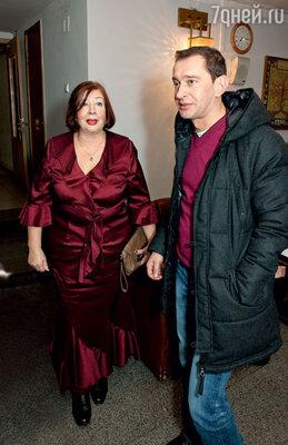 Константин Хабенский с мамой Татьяной Геннадьевной