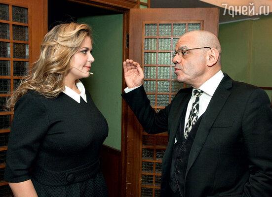 ...Ирина Пегова и Константин Райкин