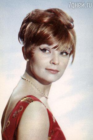 Светлана Светличная в 1970 году