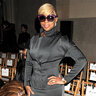 Мэри Джей Блайдж на показе Zac Posen на Неделе моды в Нью-Йорке