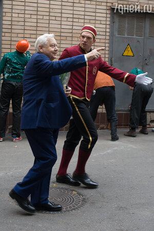 Олег Табаков и Андрей Бурковский