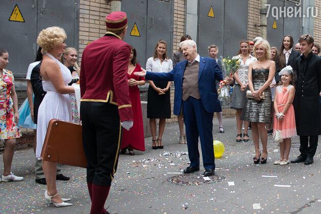 Олег Табаков, Марина Зудина, Антон Табаков