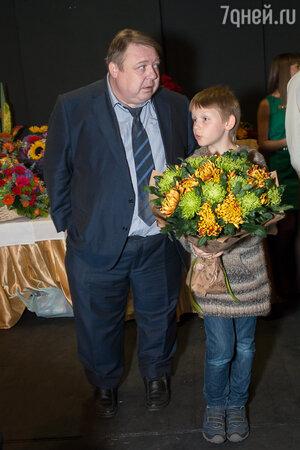 Александр Семчев с сыном