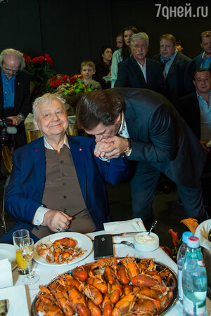 Олег Табаков и Владимир Машков