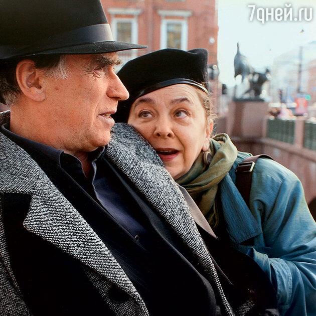 Юрий Лазарев с Марией Кедровой