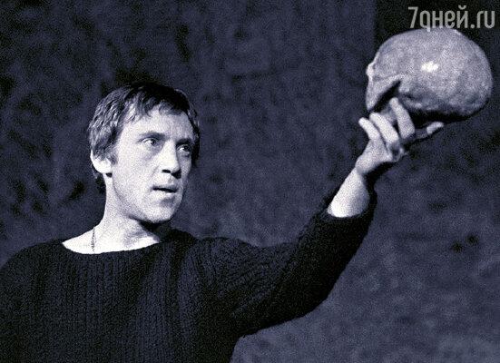 Роль Гамлета для Владимира Высоцкого стала главной ролью его жизни