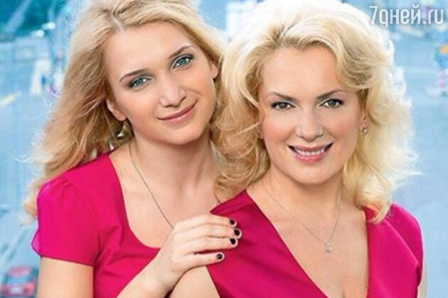 Мария Порошина с дочкой Полиной