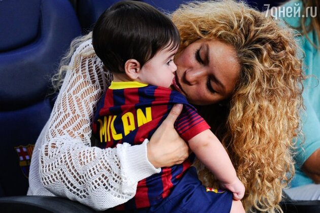 Шакира с сыном