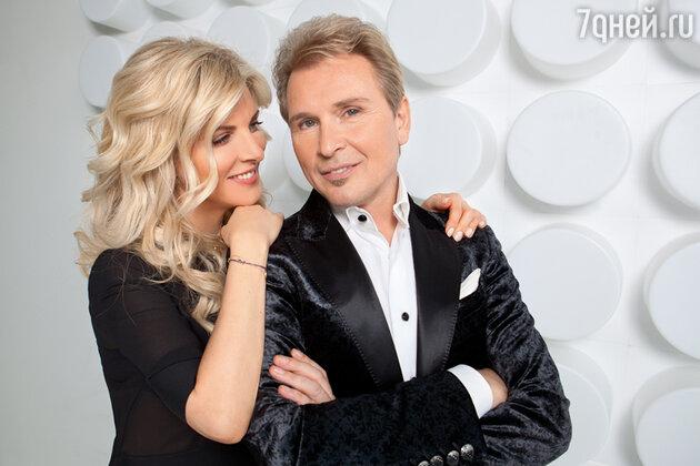 Александр Малинин c женой Эммой