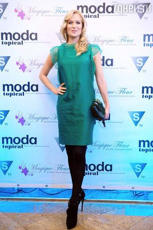 Олеся Судзиловская на церемонии вручения премии «Пара года». 2014г.