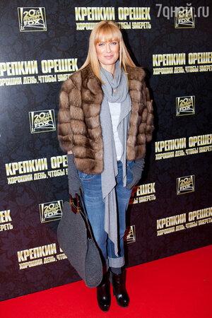 Олеся Судзиловская на премьере фильма «Крепкий орешек. Хороший день, чтобы умереть». 2013 г.