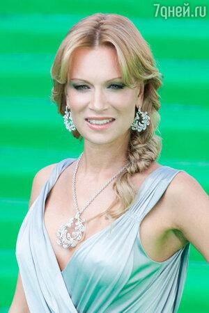 Олеся Судзиловская на открытии Московского международного кинофестиваля. 2011 г.
