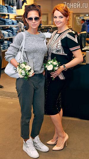 Екатерина Климова с Екатериной Вуличенко