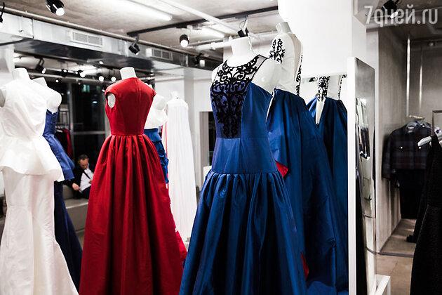 Капсульная коллекция вечерних платьев от Киры Пластининой, посвященная Зимним Олимпийским Играм